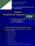 Unidad 4 Planeacion del Tiempo del Proyecto.ppt