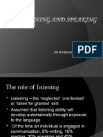 Teaching Listening n Speaking