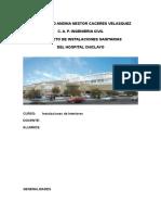 Informe instalaciones sanitarias - hospital.doc
