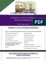 Aula Farmacodinamica Atualizada.ppt