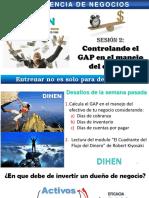 Calculo de CxP, CxC, DI y Cash Dejado en La Mesa en Blanco