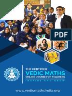 Vedic Maths Teachers Course