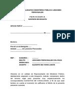 Alegatos Ministerio Publico-lesiones Personales