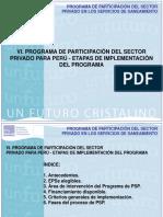 Etapas de Implementacion Del Programa de PPSP