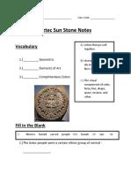 sun stone notes pdf