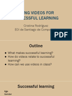 Using videos in class