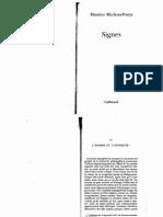 Merleau-Ponty - Signes. Extrait.pdf