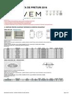 3. Lista Preturi v.E.M. Proiect Lighting - Iluminat Interior Cu LED_2016 (1)
