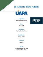 Universidad Abierta Para Adulto - Derecho Penal General  (Tarea III).docx