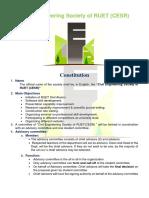 CESR Constitution