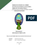 Diplomado en Tributacion Evacion Tributaria en Locales de Eventos Sociales