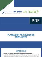 Formato Simulacro (Plan de Trabajo) Cvu