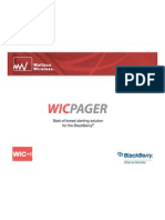 WIC Pager Presentation
