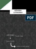 GÊNERO LITERÁRIO