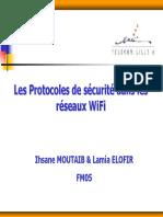 Les Protocoles de Sécurité Dans Les Réseaux WiFi