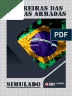 Simulado Carreiras Forças Armadas - Com Gabarito - Com Comentários.pdf