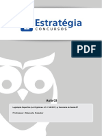 Aula 03 - Título IV, Da Tributação e Do Orçamento Do Distrito Federal, Título v, Da Ordem Econômica Do DF