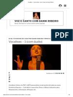 Vocalises - 1 (com áudio) - Voz e Canto com Danni Ribeiro.pdf