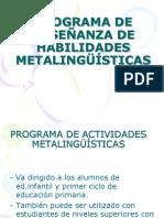Actividades Para Trabajar Habilidades Metalinguisticas