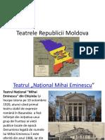 Teatrele Republicii Moldova