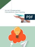 Apunte Complementario Caracteristica y Tipos Coaching