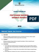 Database Koperasi Pacitan - Laporan Pendahuluan