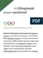 Komite Olimpiade Internasional - Wikipedia Bahasa Indonesia, Ensiklopedia Bebas