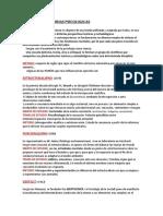 Teorías Psicológicas.word