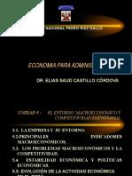 Economia Para Administración MACROECONOMIA