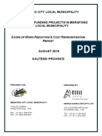 Phase 2 Projects Scope of Work Reduction & Cost Reprioritisation Report