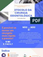 Protocolo Da Cirúgia Odontológica