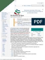 Dia Mundial Da Agua-Wikipedia a Enciclopedia Livre