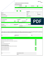 Formato Inscripción proveedor