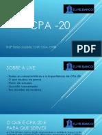 Apresentação CPA 20