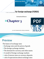 Chapter 3 the Market for Foreign Exchange (FOREX)