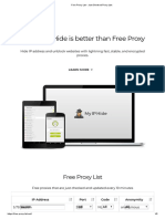 Free Proxy List - Just Checked Proxy List 1
