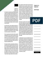 Morgan G. (1990). Imágenes de La Organización. México Alfaomega Ra-Ma, Capítulos 1