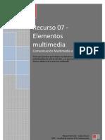 Ficha Recurso 07 Elementos Multimedia