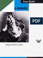 Werfel, Franz - La Muerte Del Pequeno Burgues [48661] (r1.0)