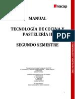 Manual INACAP - Sem. 2° Tecnología de Cocina y Pastelería II
