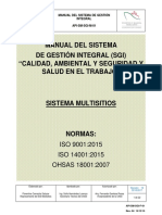 2018 Manual Del SGI