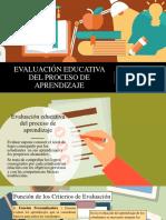 Evaluación Educativa Del Proceso de Aprendizaje