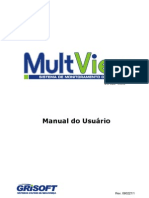 Manual Usuario-MULTVIEW - MANUAL DE USUÁRIO DO SISTEMAS DE CÂMERAS - FUNCIONAMENTO NO MICRO COMPUTADOR