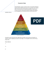 pyramid of hate graphic organizer