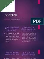 DOSSIER.pptx dani.pptx