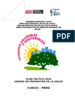 Plan Tactico Promsa 2019