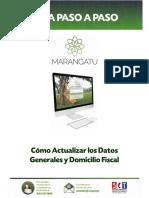 Guía Paso a Paso Nuevo Marangatu- Cómo Actualizar Datos Generales y Domicilio Fiscal