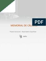 Memorial de Cálculo-Reservatório de Concreto Armado
