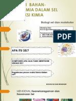 Kelompok 1 Orientasi Bahan Kimia Sel Dan Reaksi Kimiawi Sel