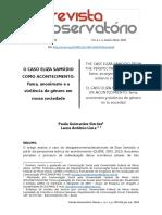 O CASO ELIZA SAMÚDIO COMO ACONTECIMENTO - simoes lima.pdf